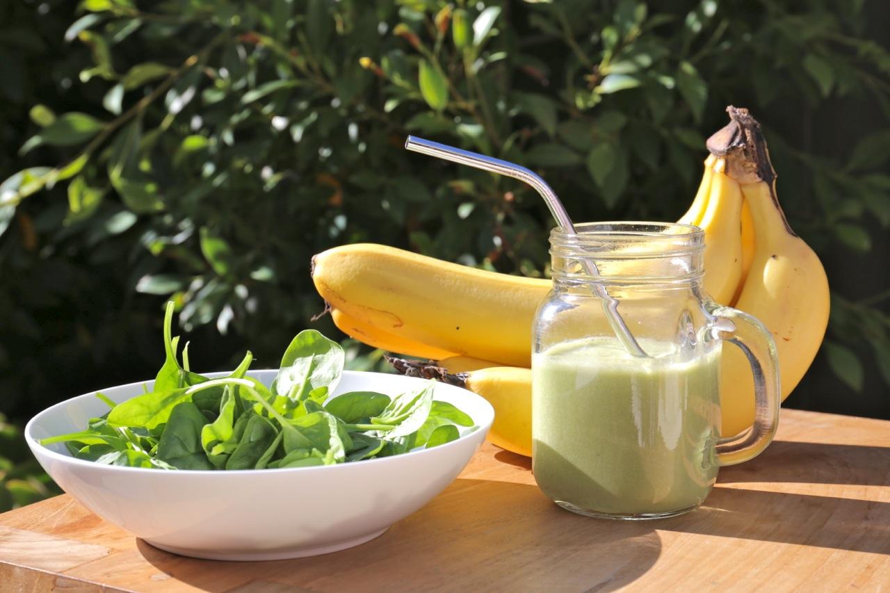 Špenátové smoothie – Spinach smoothie