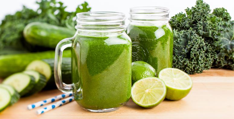 Fitness kelové smoothie –  Fitness kale smoothie