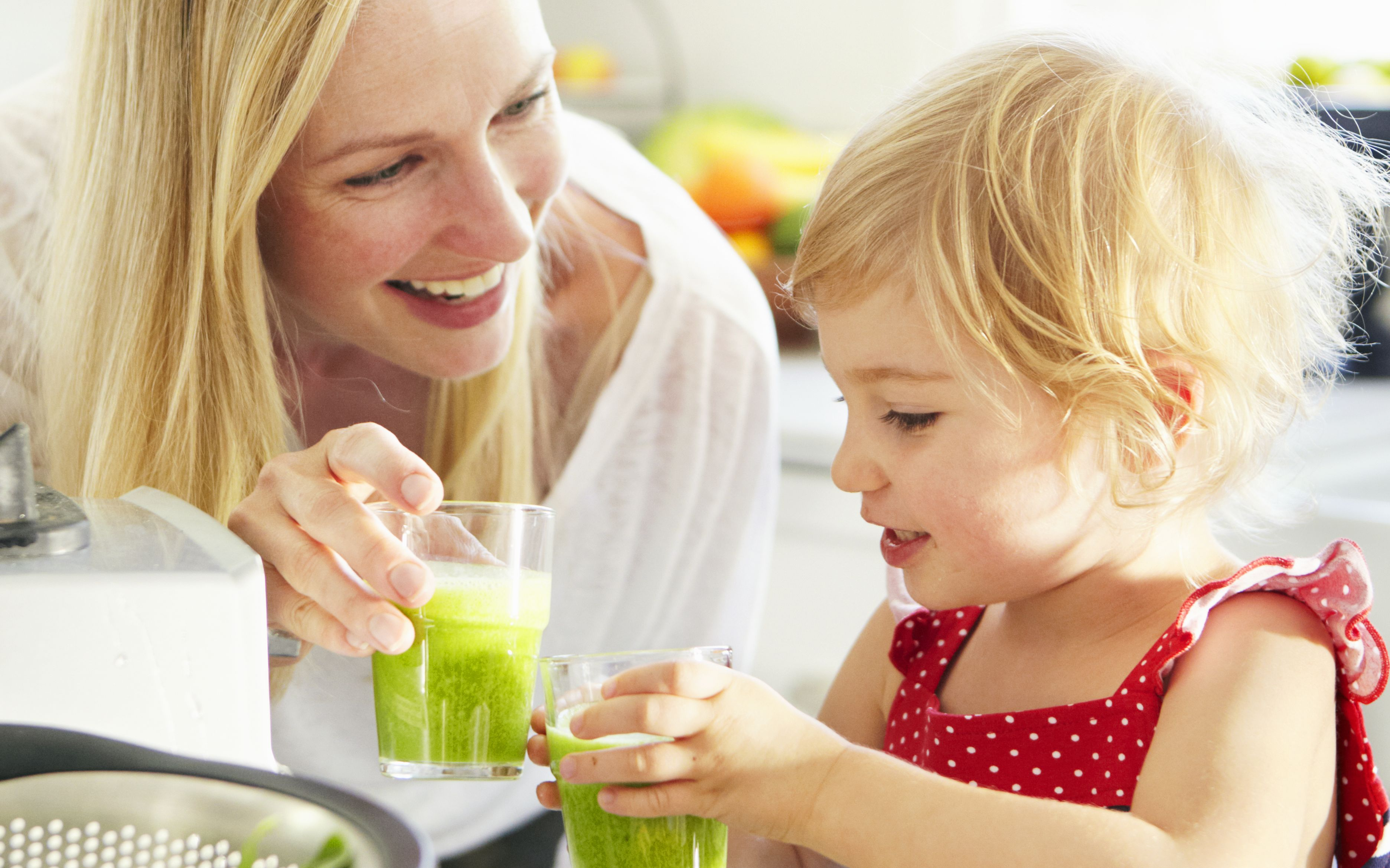 Zelené smoothie pre deti