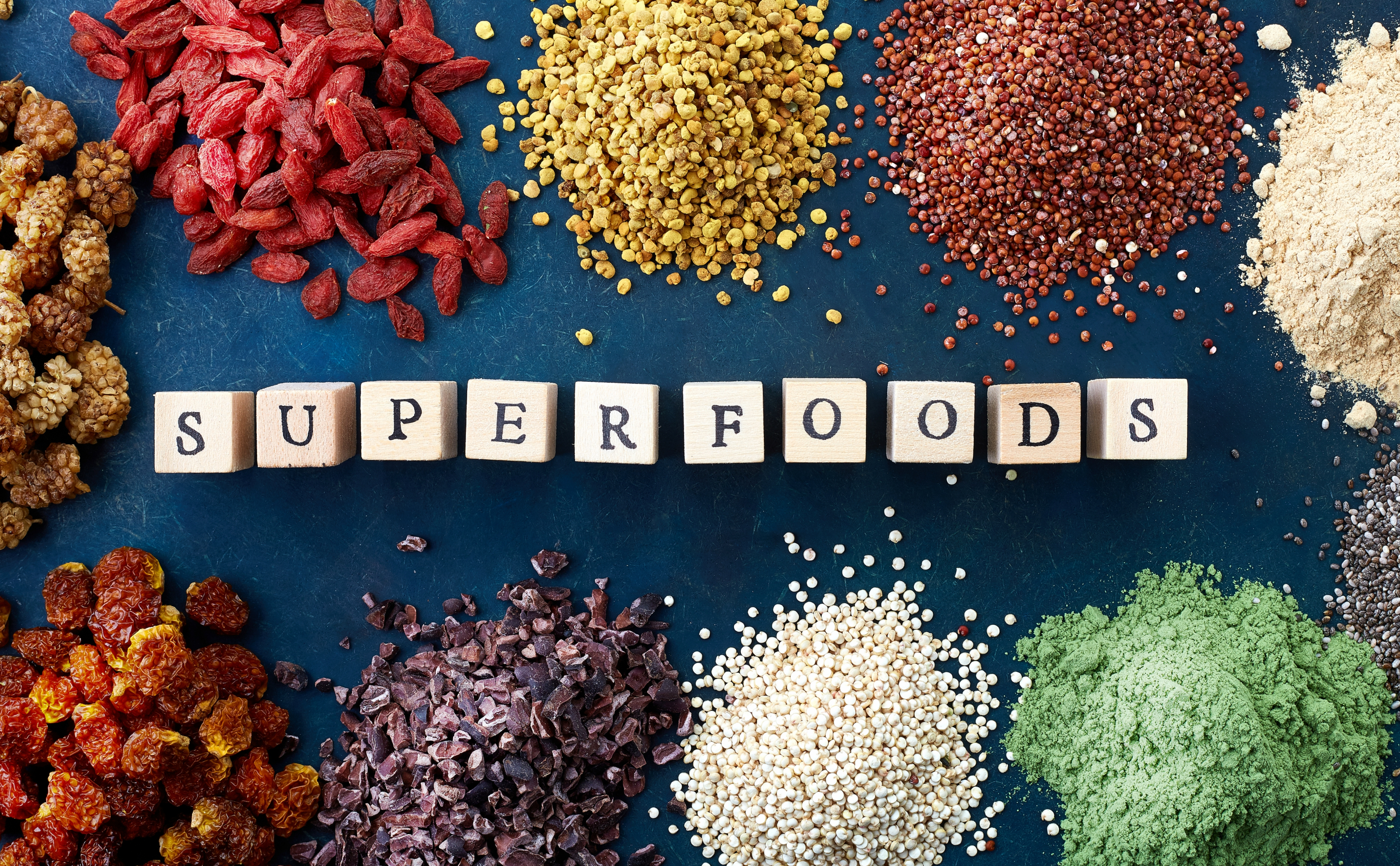 Čo sú to super potraviny alias superfoods?